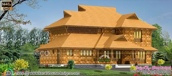 4 bedroom traditional home front design