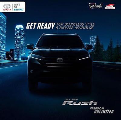 Promo DP Ringan, Paket Kredit All New Toyota Rush Surabaya