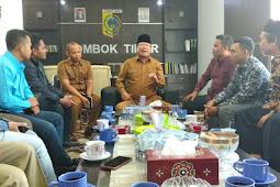 FK-BPD Lombok Timur Hearing ke Bupati, Ini Hasilnya.