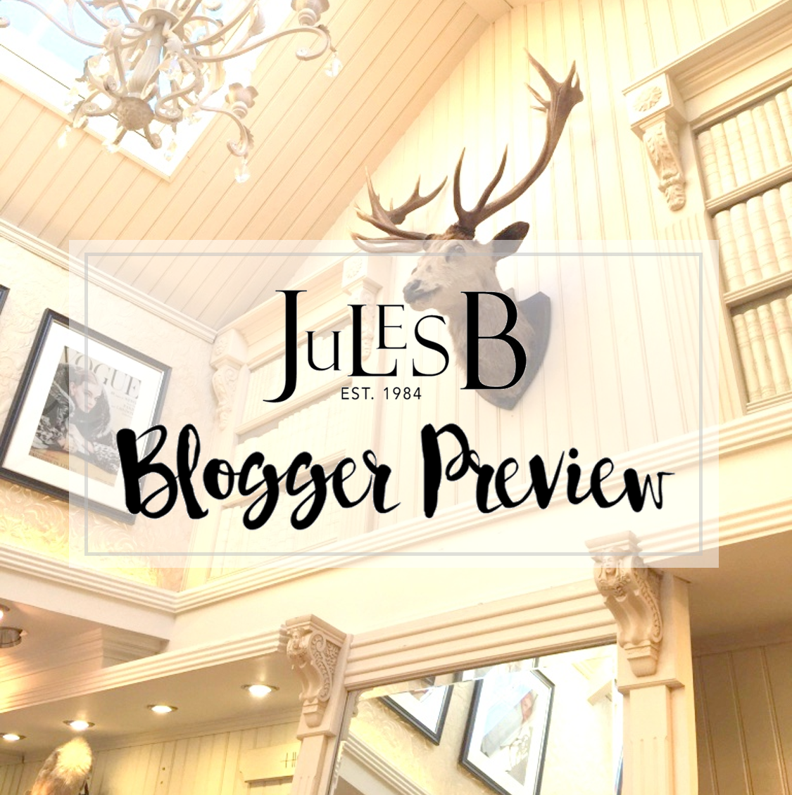 Jules B Blogger Preview Event clothes and stuff
