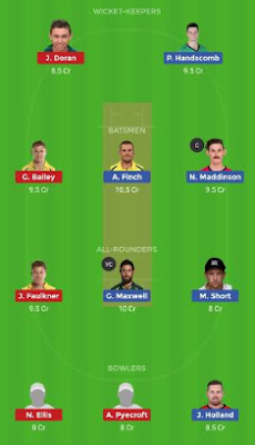 VCT vs TAS dream 11 team | TAS vs VCT