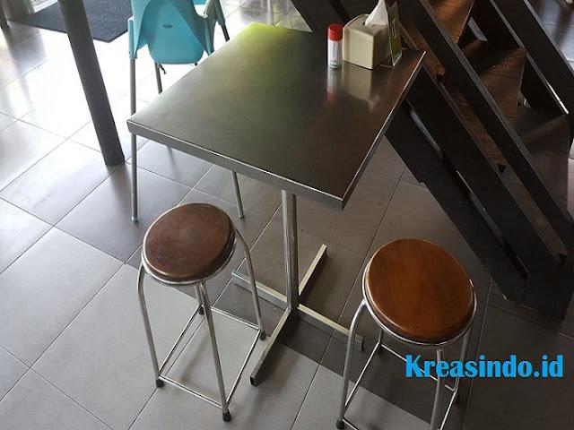 Jasa Meja Cafe Stainless Terbaik dan Terpercaya