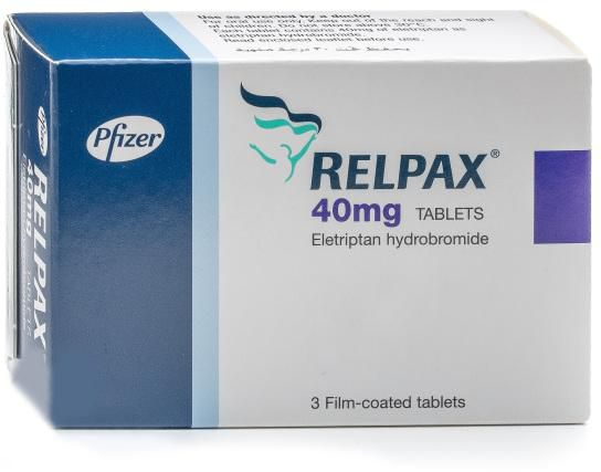 سعر اقراص ريلباكس Relpax لعلاج الصداع