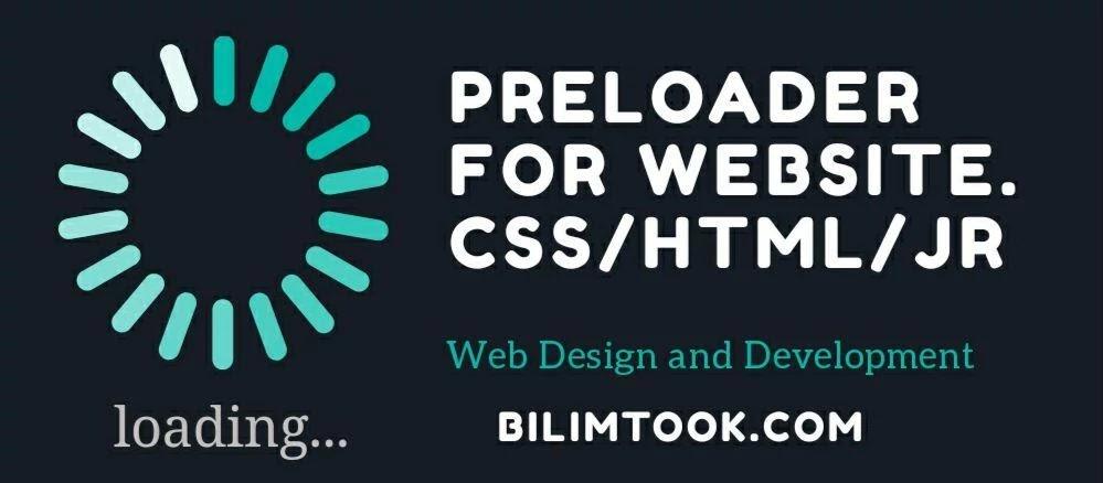 Preloader source code for Website