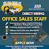 Direct hiring Office Sales Staff - JuanGadget