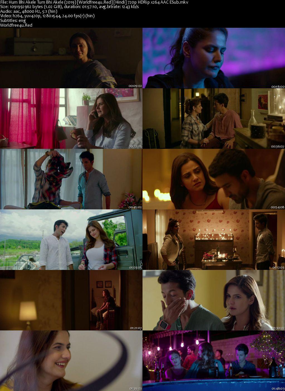 Hum Bhi Akele Tum Bhi Akele 2019 Hindi HDRip 720p