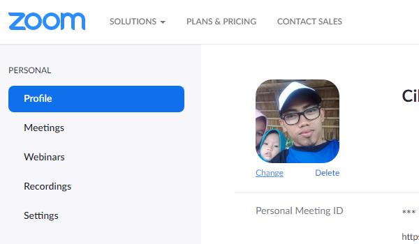 Cara Mengganti Foto Profil Di Zoom Menggunakan PC dan Android