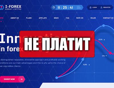 Скриншоты выплат с хайпа i-forex.biz