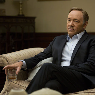 Kevin Spacey drinking time image