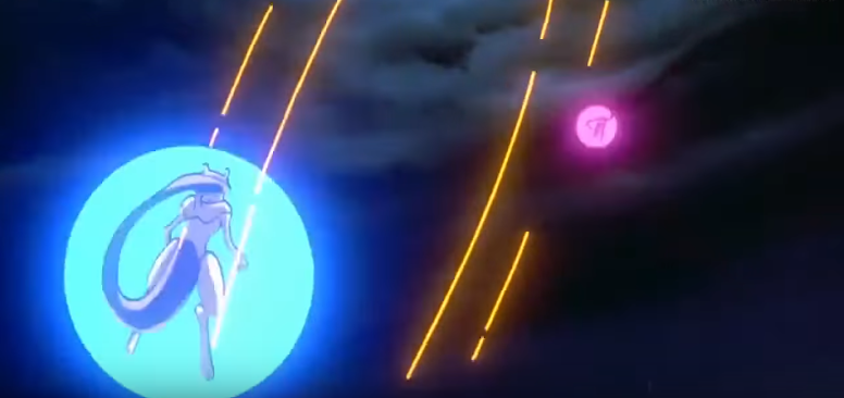 Mewtwo vs Mew Filme 01