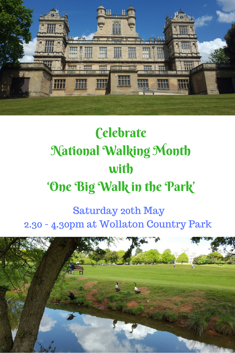 Nottingham Gets Set To Celebrate National Walking Month With 'One Big Walk In The Park'