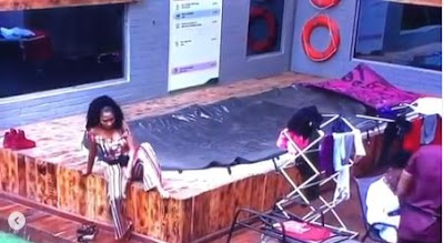 "#BBNaija: ""Tacha Showers Once In A Day On Her Period, Guys Are Eating Shit"" - Mercy"