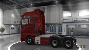 MAN TGX Reworked 6×4 Chassis