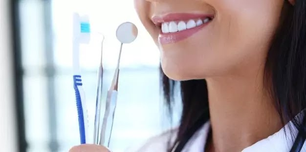 Oral hygiene and dental care routine