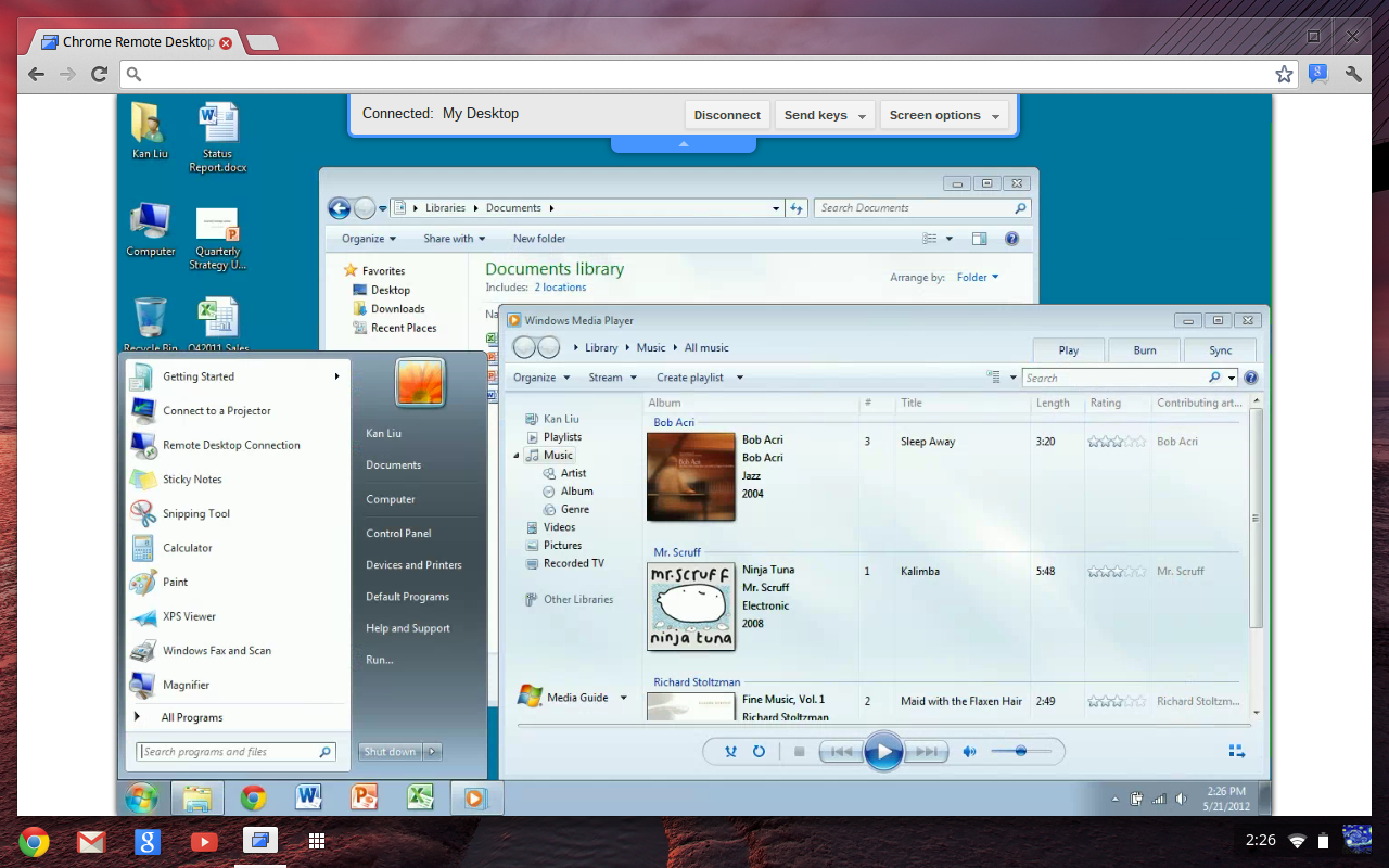 Chrome Remote Desktop - Bilgisayarı Uzaktan Kontrol Etmek İçin 20 Program