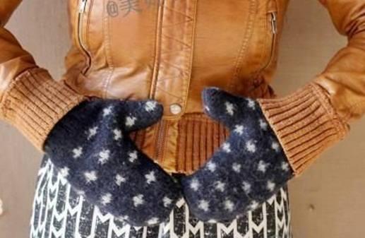 cara membuat sarung tangan lucu dari switter bekas