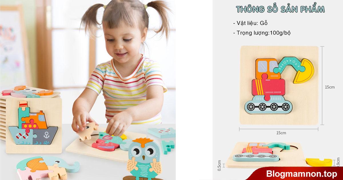Những món đồ chơi mà bé thường yêu thích