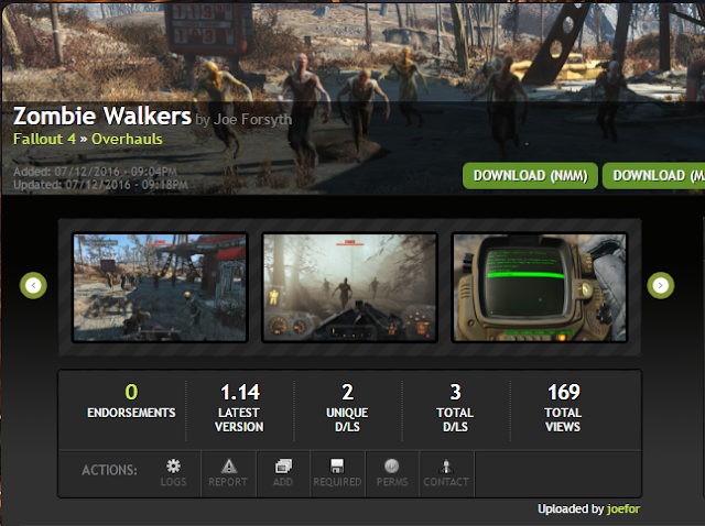 2016 Zombie Walkers A short tutorial describing how to use fo4edit to manually copy and merge conflicting levelled lists into a custom merged patch. 2016 zombie walkers