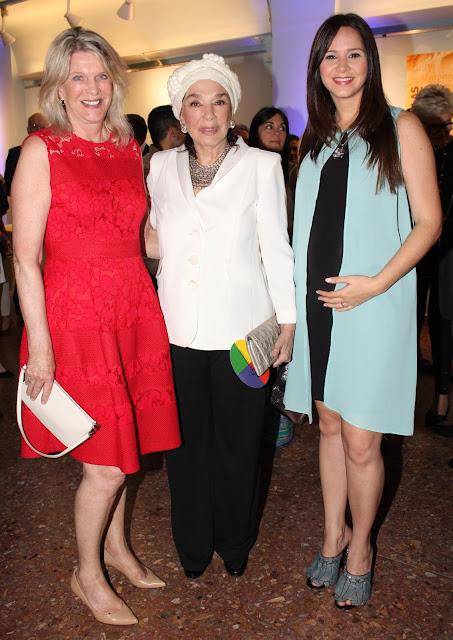 Eva Soldati,  Graciela Borges y Natalí Marquez