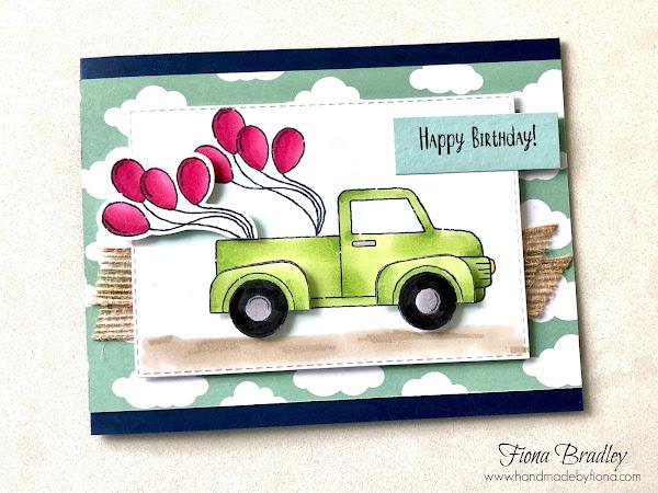 Trucks of Birthday Wishes