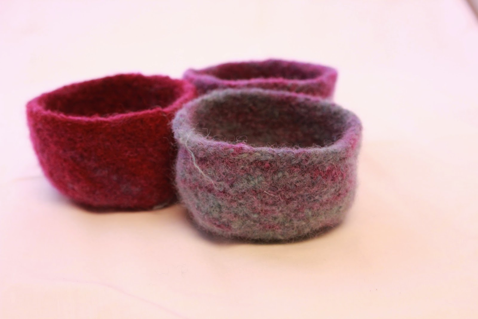 Emily's Knitted Whimsy: Pattern - Ombre Felted Trinket ...