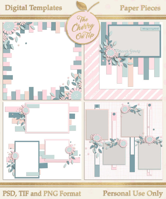 Paper Pieces Templates
