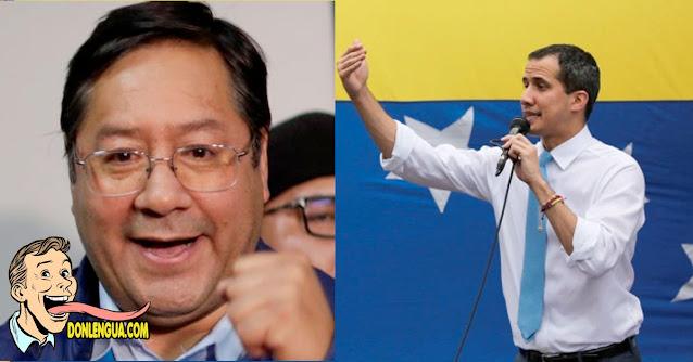 Guaidó recibe invitación para la toma de pose del Socialista Luis Arce en Bolivia