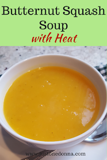Butternut Squash Soup with Jalapeno Peppers