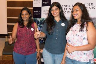Novotel Hyderabad Airport felicitated Women bikers
