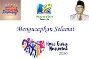 """Panduan Guru Indonesia Mengucapkan """" Selamat Hari Guru Nasonal """""""