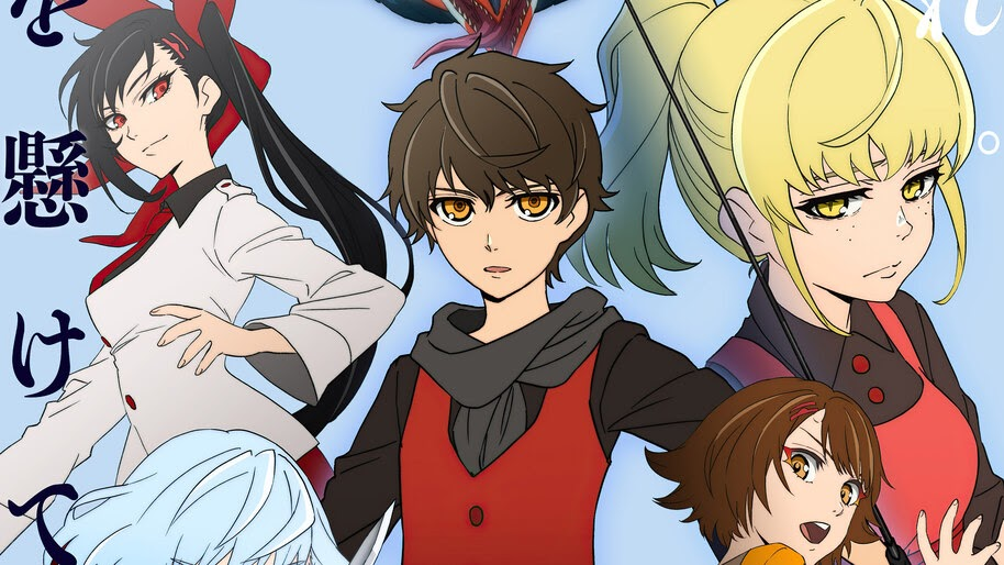 Tower of God, Anime, Characters, 4K, #7.1955