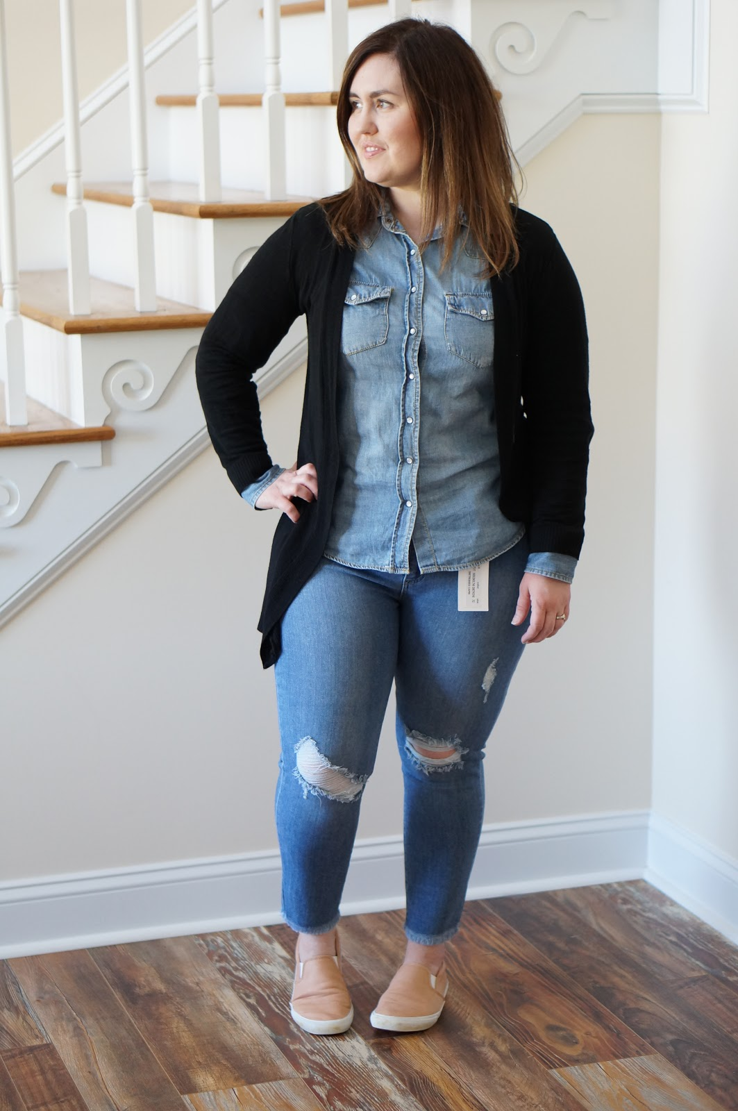 Popular North Carolina style blogger Rebecca Lately shares her Stitch Fix outfits for May 2018.  Click here to see what she got & what she thought!