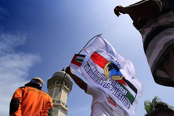 KNRP Buka Puasa Bersama di Masjid Al-Aqsha