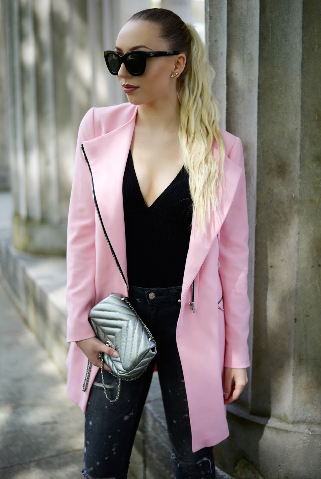 Pink barbie coat