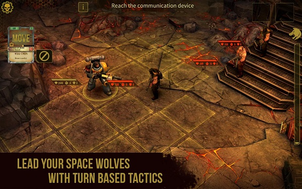 HeroCraft launches Warhammer 40,000: Space Wolf on Android