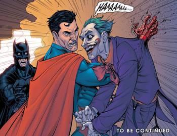 Superman mata al Joker en Injustice Gods Among Us