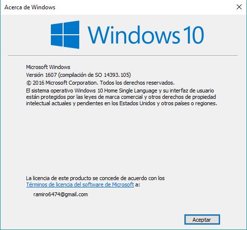 Cambiar, eliminar u ocultar imagen cuenta usuario Windows 10