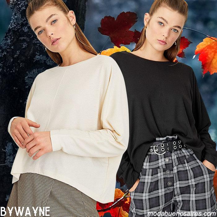 Faldas y pantalones a cuadros 2020 invierno mujer.