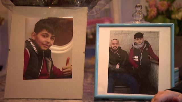 إضاءة شمعة في التلفزيون الهولندي للطفل السوري محمد الذي توفي بسرطان الدم