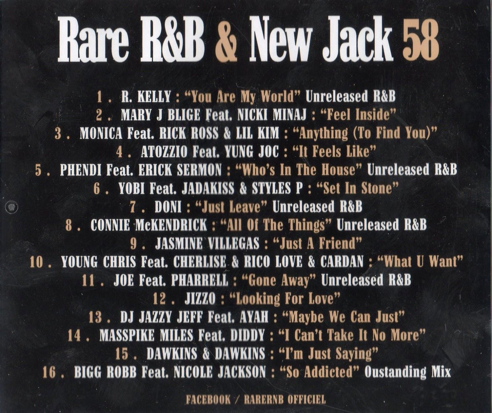 NEW R&B TÉLÉCHARGER JACK RARE