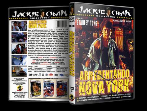 Capa DVD Arrebentando em Nova York