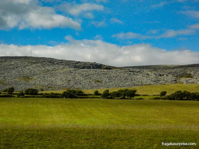 Paisagem do Burren, Irlanda