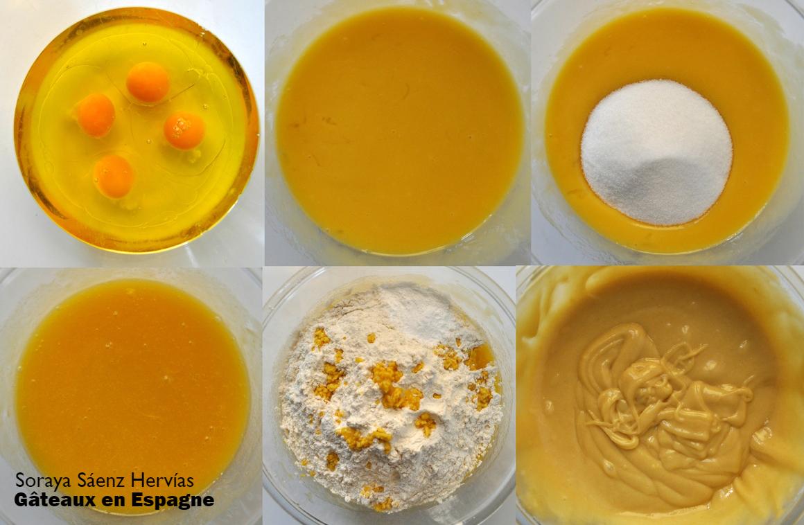 g 194 teaux en espagne recette madeleines au citron