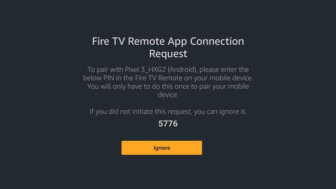 Firestick Remote Connection