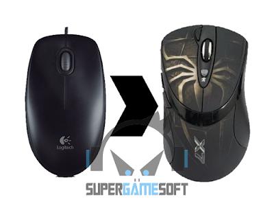 Cara Mengubah Mouse Biasa Menjadi Macro