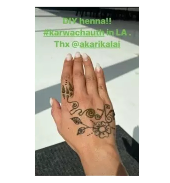 Priyanka-Chopra-on-karwa-chauth-in-mehendi