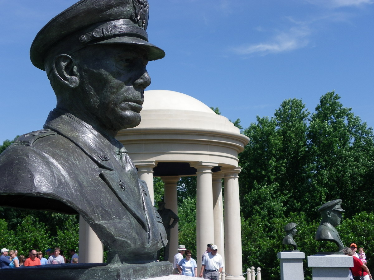 Circle Of Generals Involved In Allied D Day Invasion Reynolds Garden National D Day Memorial Photo Bd Matt