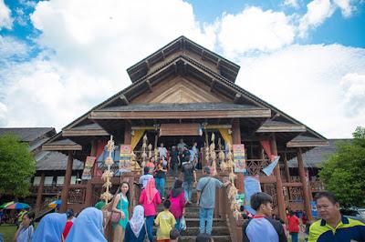 Rumah Kebudayaan Murut, Kg. Pulong, Tenom