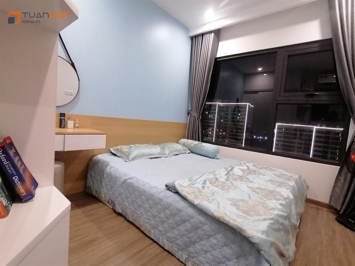 Hoàn thiện bàn giao căn hộ 2PN+1 (55m2 ) S1.05xx12A Vinhomes Smart City Tây Mỗ