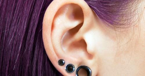 Gauging Ears With Extended Ear Piercings Tattoos Body Piercings